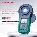 Mastech MS6612 Люкс метр 200000 люкс свет метр тестовые спектры Авто Диапазон высокой точности Цифровой Люксметр  фотометр