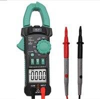 Amperímetro acv/dcv aca medição da escala automática da frequência da capacitância ncv medidor da braçadeira de digitas da elevada precisão