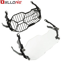For BMW R1200GS R 1200 GS Adventure 2013-2018 Motorcycle Accessories Headlight Protector Guard Lense Cover Water Cooled Models motorcycle accessories headlight bracket guard grid grille lense cover protector for bmw r1200gs r 1200 gs adventure 2013 2018
