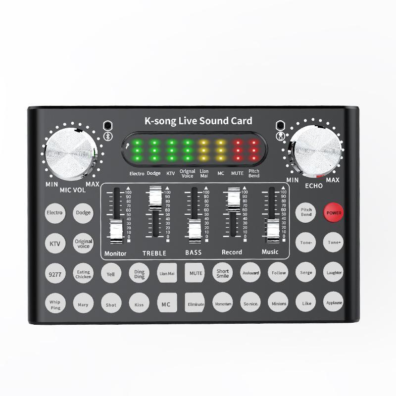 TWISTER.CK DC5V 1A K-Song Studio аудио миксер микрофон Webcast развлечения стример Live Sound карта для телефона компьютера ПК