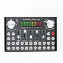 Yfashion dc5v 1a k song студийный аудио микшер микрофон веб