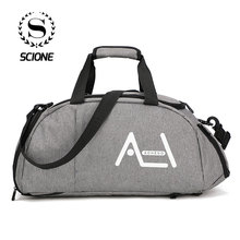 Scione Men Travel Sport Bags Mens Handbag Large Travel Bag High Quality Luggage Shoulder Traveling Bags And Luggage For Men
