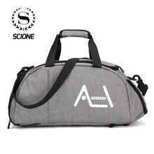 Scione גברים נסיעות ספורט שקיות Mens תיק גדול נסיעות תיק מטען באיכות גבוהה נוסעים ומטען עבור גברים
