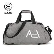 Scione 男性旅行スポーツバッグメンズハンドバッグラージトラベルバッグ高品質荷物ショルダー旅行バッグや荷物のための男性