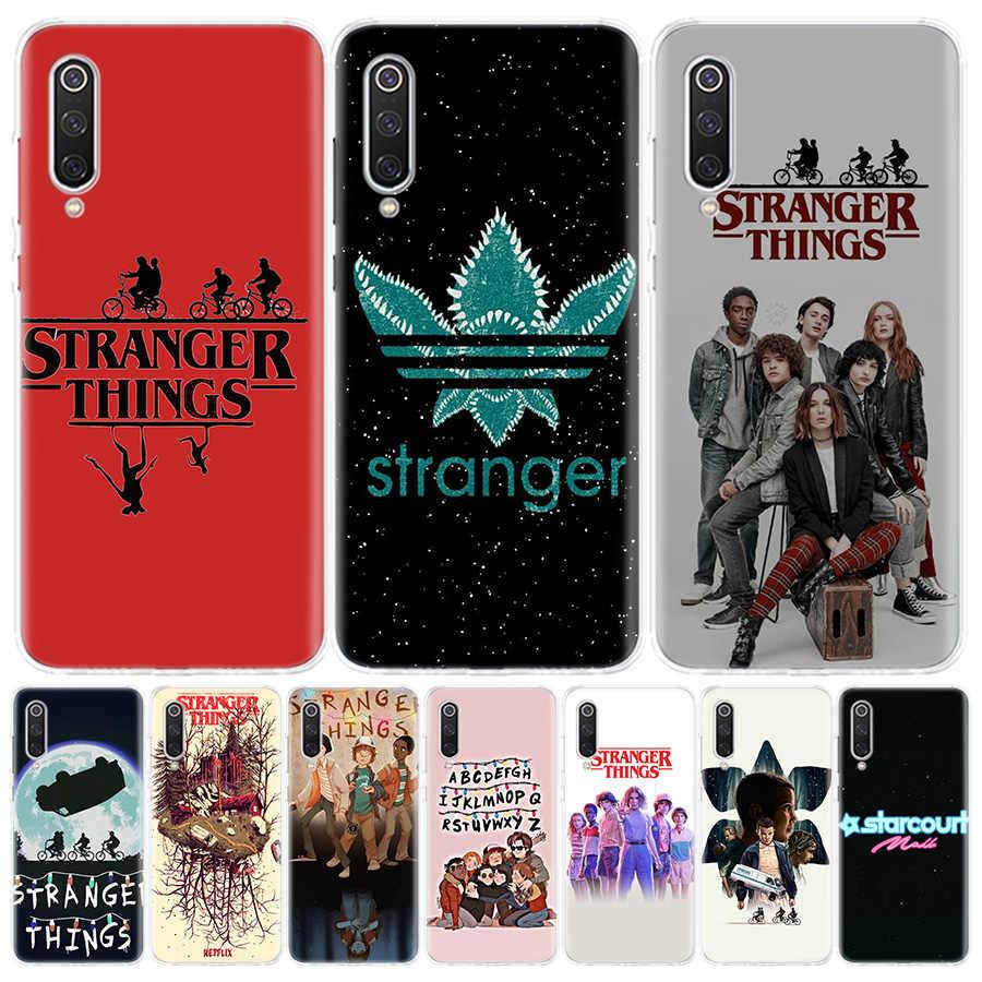 Hot stranger things 3 Cover Phone Case For Samsung Galaxy A51 A71 A50 A10 A20E A30 A40 A70 M30S A01 A21 A6 A7 A8 A9 Plus Coque