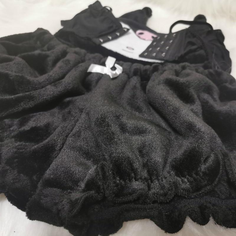 Kawaiii Kuromi Soft Plush Pajama   2