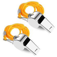Football Whistle Hockey-Volleyball Police Soccer Field Basketball-Referee Stainless-Steel