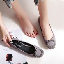 2020 Spring New Women Loafers Flats Ladies Shoes Shallow Ballet Flats Woman Casual Shoes Female Shoe Comfortable Ballet Flats цена 2017