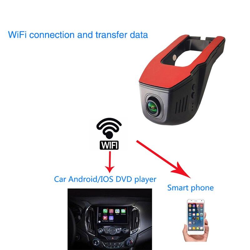 Ainina Dual objektiv WiFi FHD1080P versteckte auto dash cam mit rück kamera, sensor Sony 323 WiFi Auto Dvr kamera nachtsicht Dvr