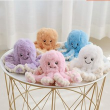 цена на 1pc 18cm Creative Octopus Plush Toys Octopus Whale Dolls & Stuffed Toys Plush Small Pendant Sea Animal Toys Children Baby Gifts