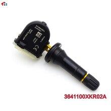 Sensor tpms de pressão de pneus de 433mhz, sensor para ótimo parede f7 h6 wey vv5 vv6 v7 pro