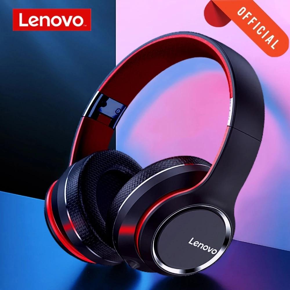 Lenovo HD200 Bluetooth Draadloze Stereo Hoofdtelefoon BT5.0 Lange Standby Leven Met Noise Cancelling Voor Xiaomi Iphone Lenovo Headset 1