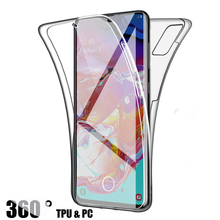 360 Full Protection Case for Samsung Galaxy S20+ Plus S20 Ultra Transparent Soft TPU Cover On samusng s20 s 20 plus ultra coque