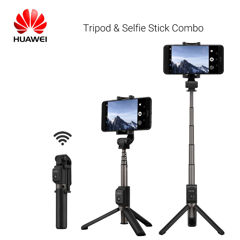 Original Huawei Honor AF15 Bluetooth Selfie Stick Tripod Portable Wireless Control Monopod Handheld For iOS/Huawei Phone