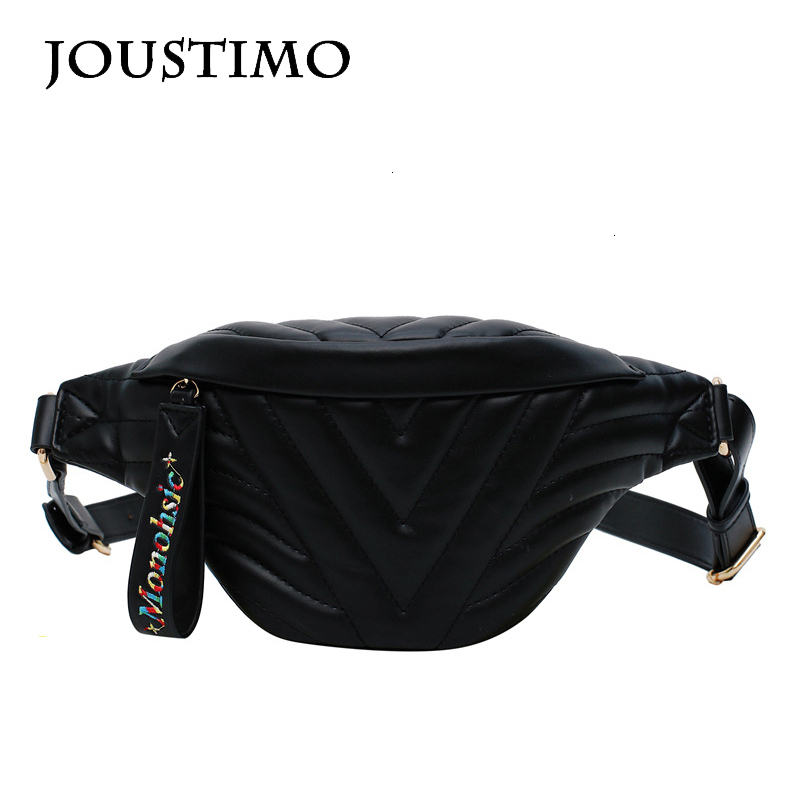 New Solid Back Fany Packs Women Waist Bag Pillow Lattice Leather Belt Bags Casual Simple Ladies Travel Phone Shoulder Chest Bags
