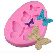 Silicone Molds Cake-Decorating-Tools Sugarcraft Butterfly Chocolate-Moulds Fondant-Mold