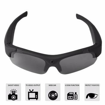 FULL 1080P HD Mini Camera Polarized-lenses Sunglasses Camera Video Recorder Sport Sunglasses Camcorder Eyewear Video Recorder цена 2017
