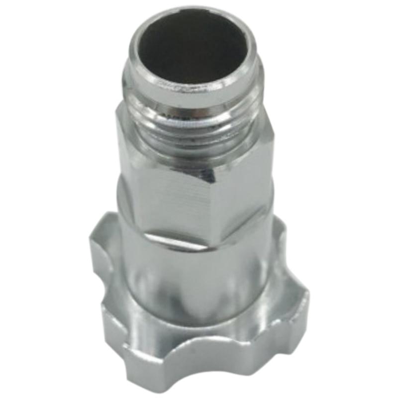 Conector de montaje del divisor de aire Adaptador de colector de manguera de aire de aer/ógrafo de 3 v/ías de 1//8  Conector de pulverizador divisor para aer/ógrafo