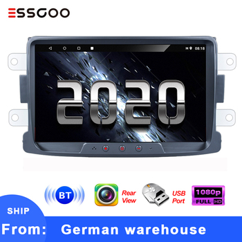 Essgoo Car Radio 2 din Android 8'' Autoradio Stereo Car Multimedia Player GPS Navigation For Renault Sandero Duste Logan Dokker image