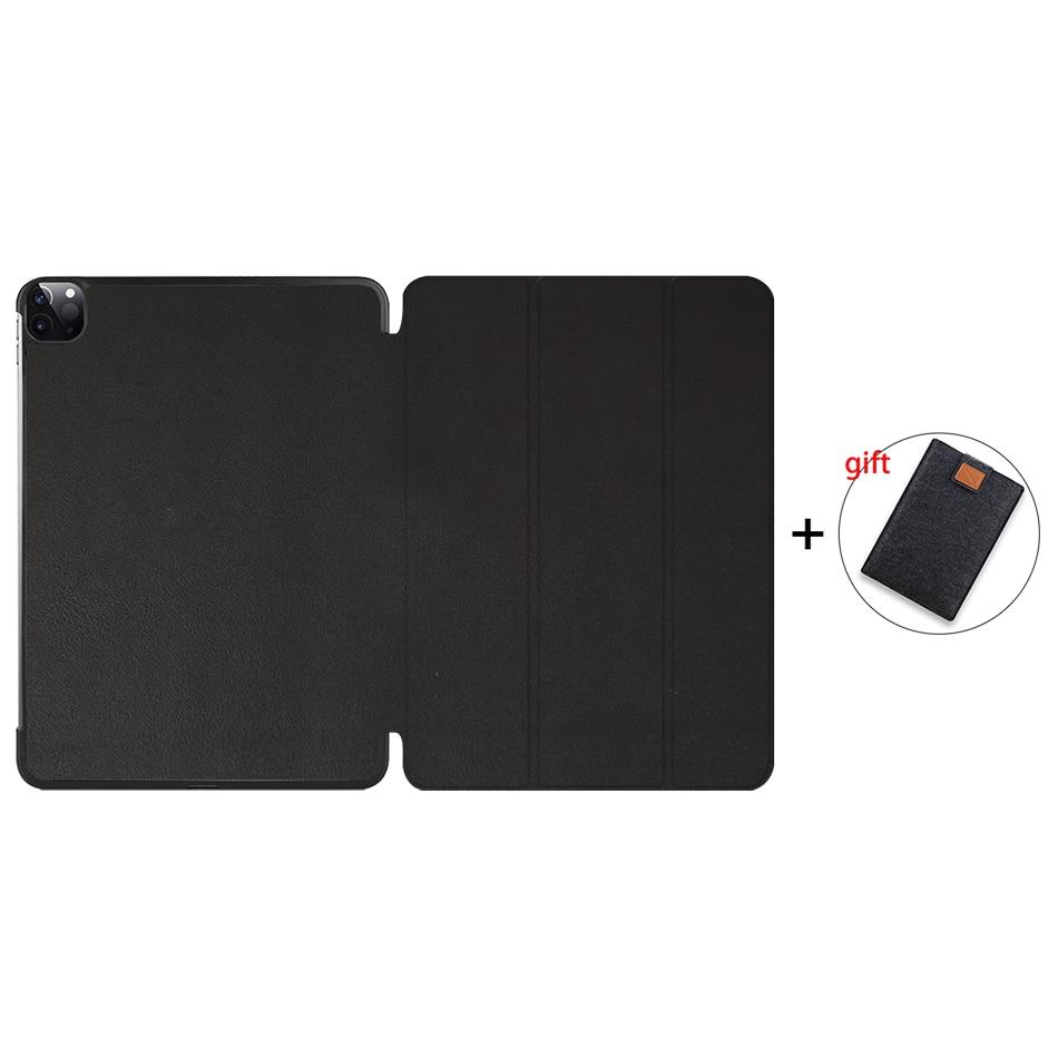 Black Gold MTT 2020 Tablet Case For iPad Pro 11 2nd Generation PU Leather Flip Stand Smart funda