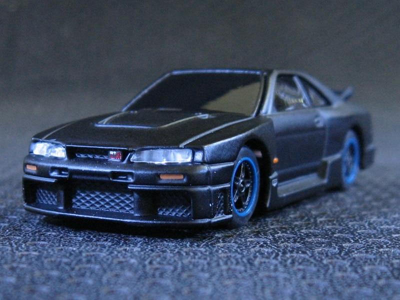 Kyosho OEM 1:64 Nissan Skyline GTR LM R-33 Alloy Toy Model Car
