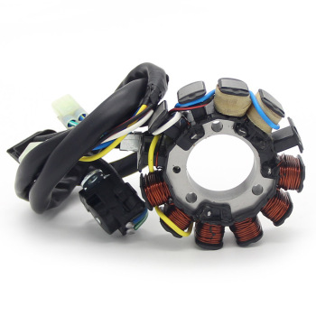 Magneto Engine Stator Generator Coil Ignition Stator Coil For Honda CRF450 CRF450X 31120-MEY-672 gy6 coil 80cc engine coil magneto motor stator gy6 50cc8 pole ac gy6 generator