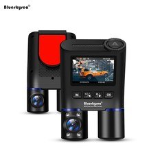 Blueskysea B2W Mini Car DVRs Dual Dash Cam HD 1080P Car WiFi GPS DVR Dash Camera Dashcam Rear View Camera for Uber Lyft Taxi Bus цена 2017