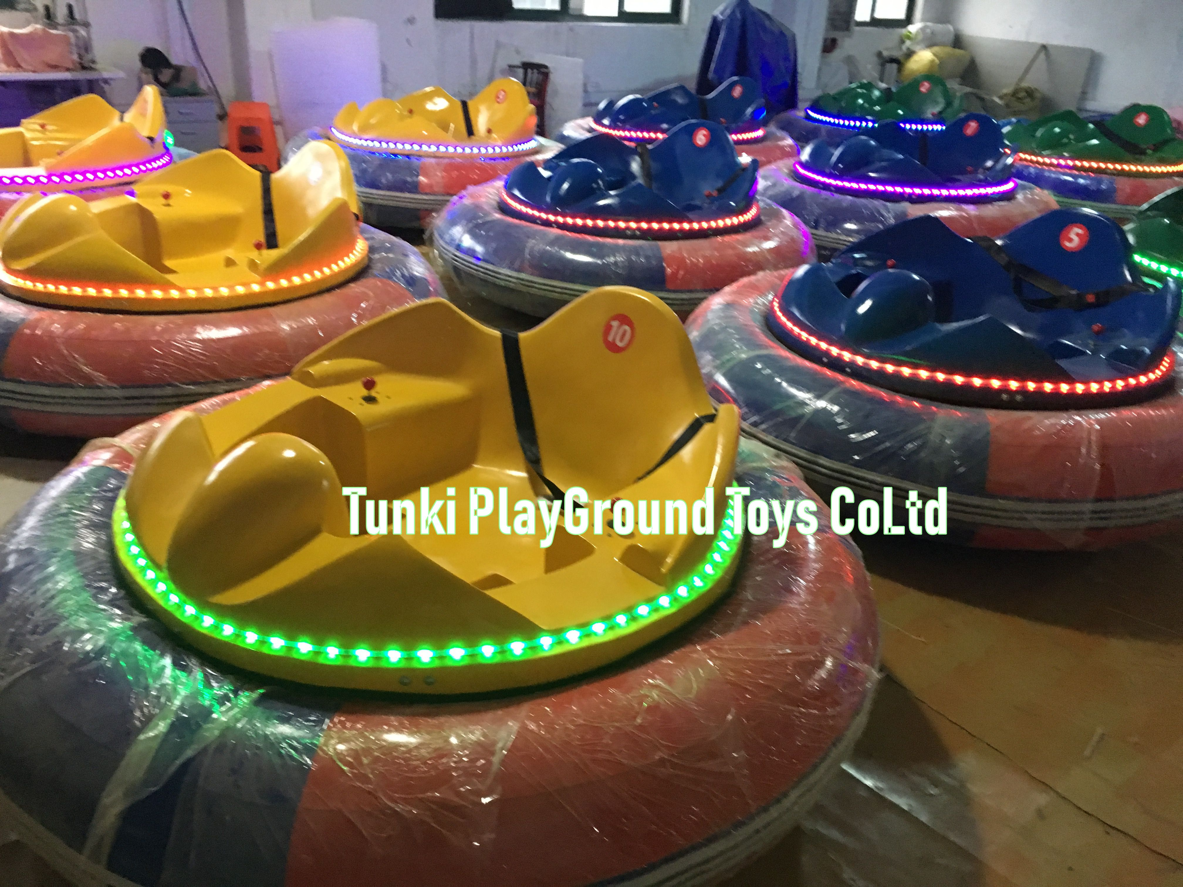 Amusement Park Games Rides Indoor Playground Inflatable Battery Bumper Car