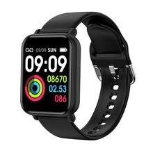 SENBONO IP68 مقاوم للماء ساعة ذكية للنساء أندرويد أبل ساعة معدل ضربات القلب ضغط الدم الرجال Smartwatch PK B57