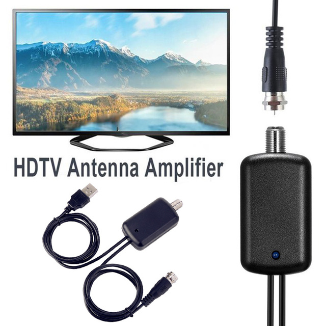 200 mile smart Indoor HDTV antena satelite Ground Receiver digital HD Antenna TV Signal Amplifier Anten Booster Tuner DVB-T2