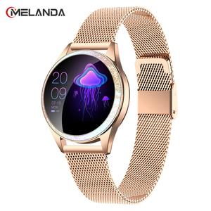 Image 1 - Women Smart Watch Heart Rate IP68 Waterproof Pedometer Bluetooth Watch Call Reminder Fitness Tracker Female Smartwatch Android