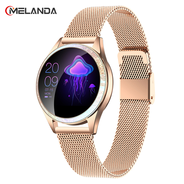 Women Smart Watch Heart Rate IP68 Waterproof Pedometer Bluetooth Watch Call Reminder Fitness Tracker Female Smartwatch Android