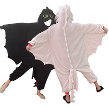 Kigurumi anime noite mal desdentado cosplay traje macacão pijamas engraçado dragão onepiece animal carnaval cosplay