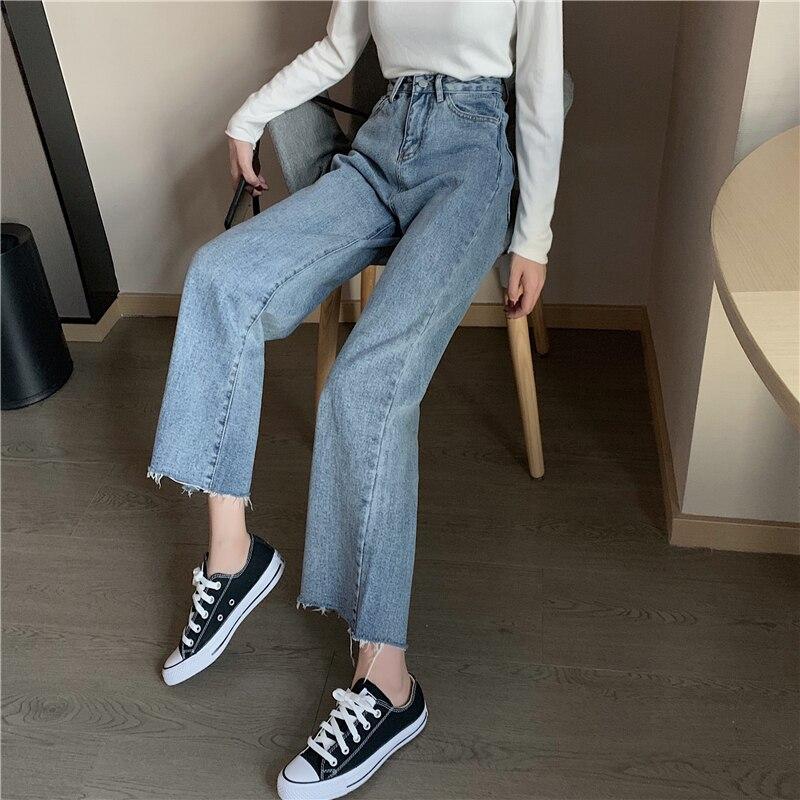 Cheap Wholesale 2019 New Spring Summer Autumn Hot Selling Women's Fashion Casual  Denim Pants BP3077