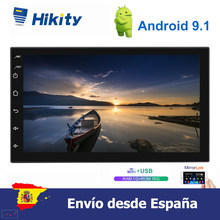 "Hikity 7 ""TFT pantalla táctil Android 9,1 coche multimedia MP5 player con GPS FM Bluetooth WIFI radio reproductor de función()"