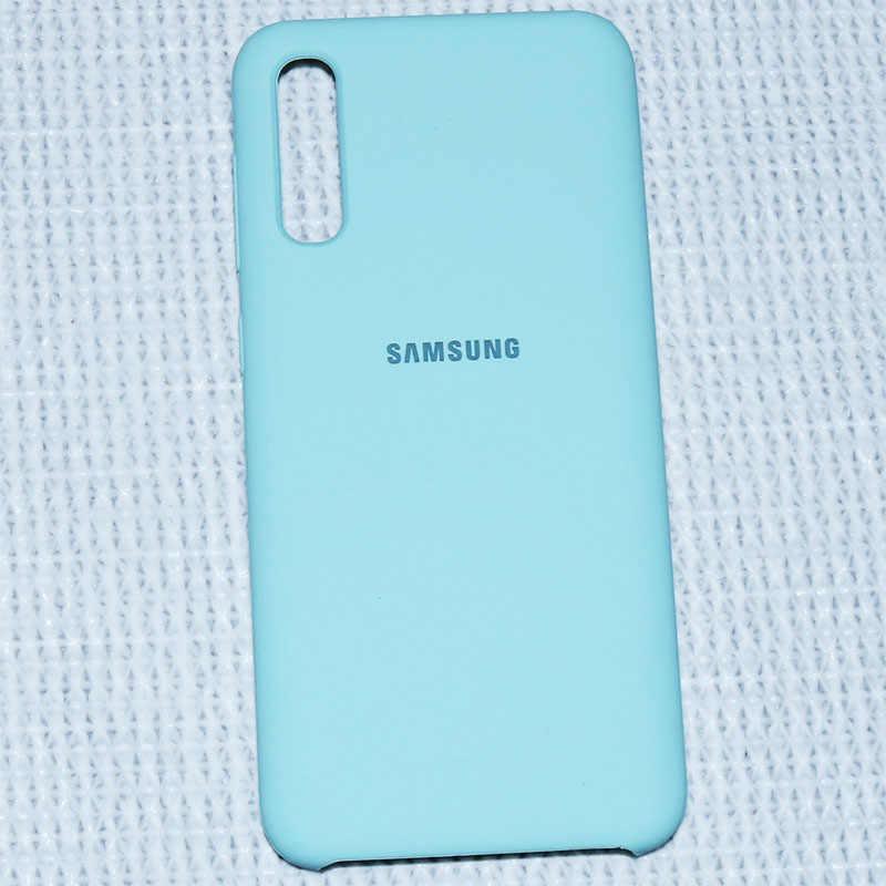 Samsung A50 durumda orijinal sıvı silikon yumuşak koruma arka kapak Samsung Galaxy A71 A51 A50 A20 A10 A40 A60 A70 a30 S durumda