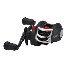 Baitcasting Fishing Reel 12+1 Ball Bearings Fly High Speed with Magnetic Brake System for Pesca
