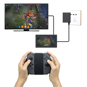 Image 4 - Comfort Grip Handle Bracket For NS Nintend Switch Plastic Holder For Switch Console Support Holder Charger