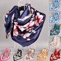 2020 luxus Marke Frühling Herbst Neue Stil Mode Blumen Gedruckt Schals Frauen Schal Warm Schal chiffon hijab decke
