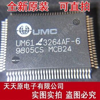 Free  shipping  10PCS/LOT  UM61L3264AF-6   QFP