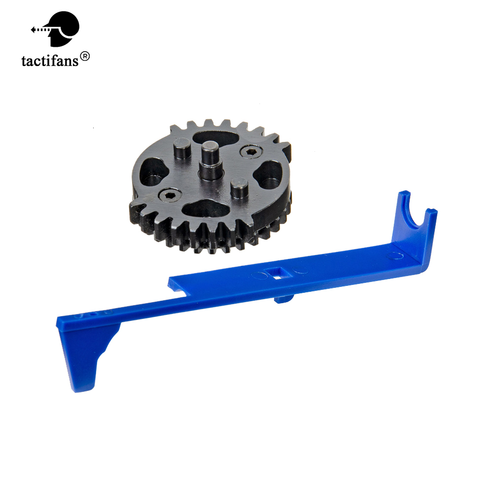 SHS Double Sector Gear DSG And Pappet Plate 9:1 Gears Set Ver2 3 Gearboxes AEG Tune Up Upgrade Set Airsoft Toy Gun Accessories