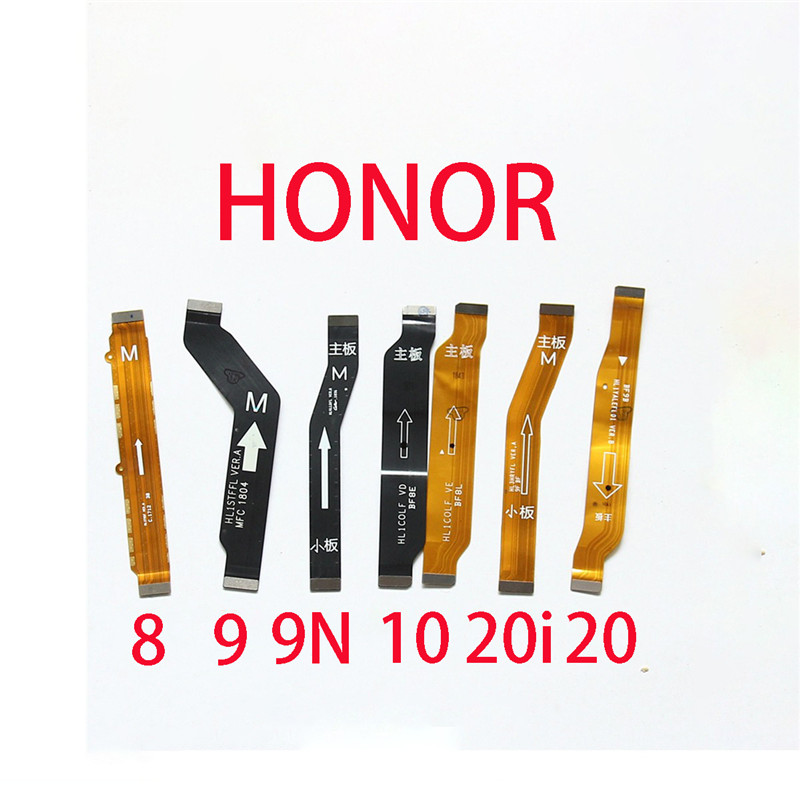 Mainboard Flex Cable For Huawei Honor 8 9 9N 10 20i 20 Main Board Motherboard Connect Flex Cable