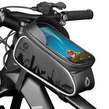 Yeskoo 60in велосипедная сумка сенсорный Экран mtb крепится