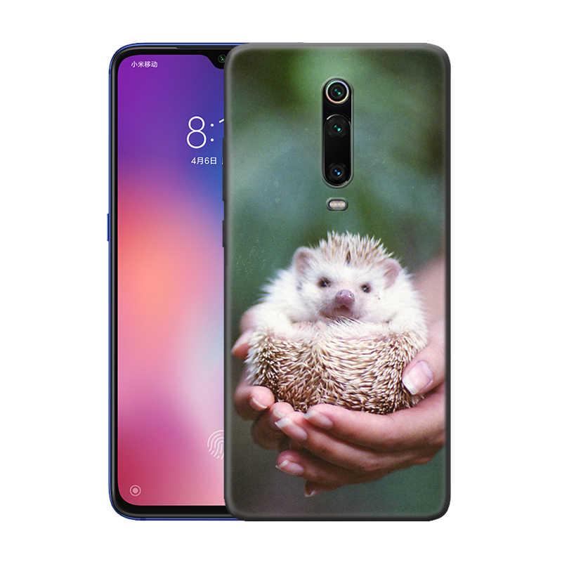 Darcy Riccio per il Caso di Xiaomi Redmi Nota 9S 8 8T 7 7A K30 Zoom Mi 9T 10 9 Pro A3 X2 F2 Nero TPU Del Telefono Coque Carcasa