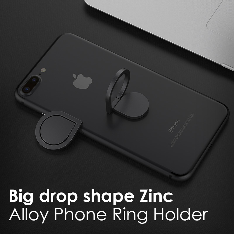 Ossky Water Drop Finger Ring Phone Holder For Phone 360 Degree Rotation Magnetic Phone Ring Holder Stand Accessories