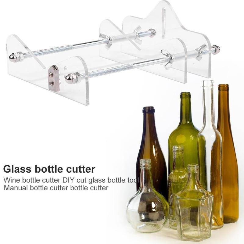 Professional Glass Bottle Cutter Round Environmentally Friendly Plastic Metal Bottle DIY Machine For Cutting Decor Tool Machine