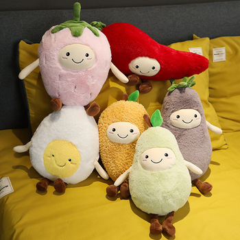 cute plush fruit pillow stuffed soft baby face fruit strawberry mango pear toy vegetables eggplant chili kids toys birthday gift платье mango kids mango kids ma018eggovf9