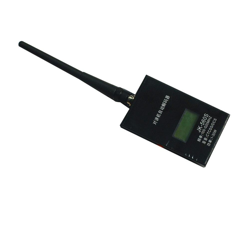 JK560S Handheld Frequency Counter Remote Reader Decoder Measure Car Radio Tone