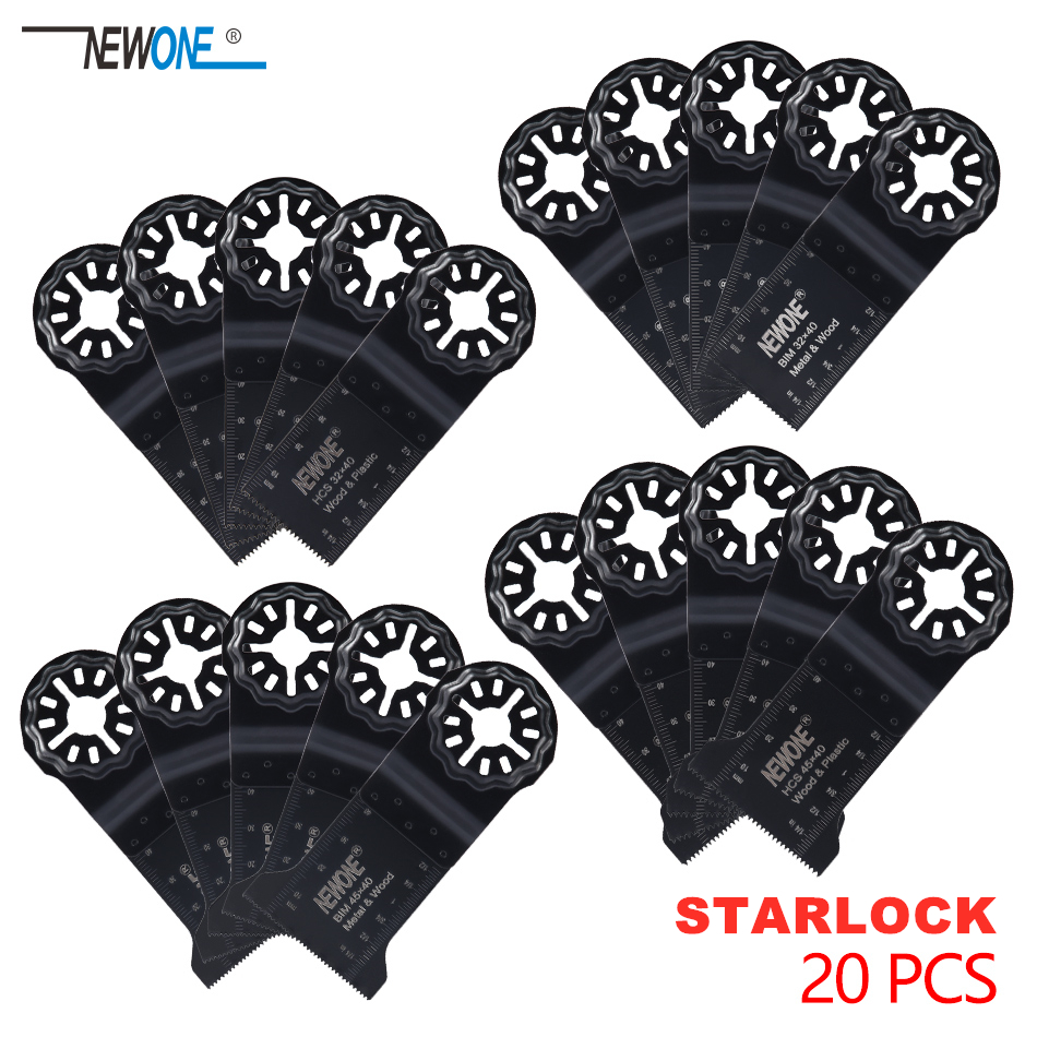 Starlock Plunge Cut Oscillating Multi-Tool Blade Accessory Sets Ideal For Cutting Grinding Scraping Sanding