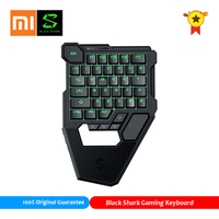 Xiaomi Black Shark Wireless Bluetooth Keyboard Compatible for Android iOS PC RGB LED Backlit Protable Keypad Game Controller